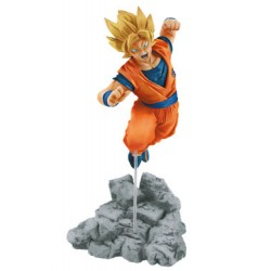 Dragon Ball Super Estatua Soul x Soul Super Saiyan Goku 14 cm