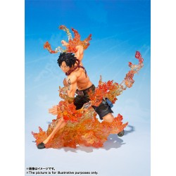 One Piece Figuarts Zero Portgas D.Ace Brothers Bond 15,5 cm