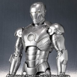Iron Man SH Figuarts Iron Man Mark II & Hall of Armour 15 cm
