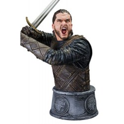 Juego de Tronos Busto Jon Snow Battle of the Bastards 15 cm
