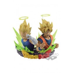 Dragon Ball Z Figuration Series Vol. 2 SSJ Goku & Vegeta 7 cm