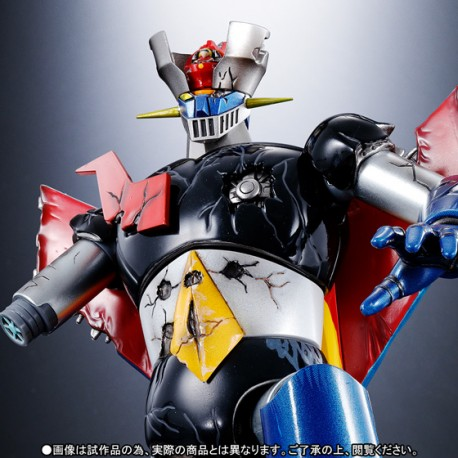 Mazinger Z Soul of Chogokin Mazinger Z Damaged Version GX-70D Dynamic Classic 17 cm