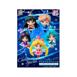 Sailor Moon Petit Chara Pack de 5 Figuras Sailor Moon Christmas Special Ver. 6 cm