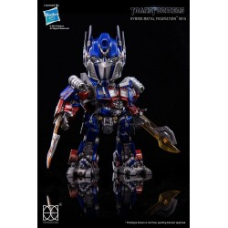 Transformers Figura Hybrid Metal Optimus Prime 14 cm