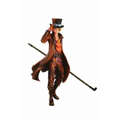 One Piece Figura SCultures Sabo Burning Color Ver. 24 cm