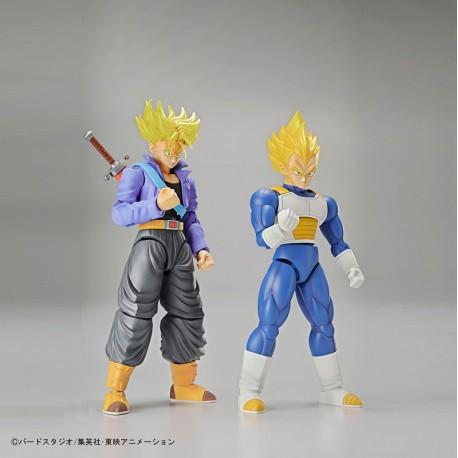 Dragon Ball Figure-Rise Super Saiyan Trunks & Super Saiyan Vegeta Set