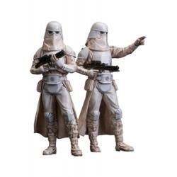Star Wars Pack de 2 Estatuas ARTFX+ Snowtrooper 18 cm