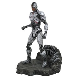 Justice League Movie DC Gallery Estatua Cyborg 23 cm
