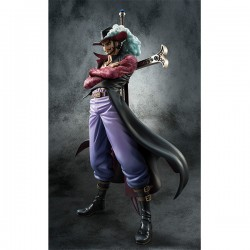 One Piece Estatua PVC 1/8 Excellent Model P.O.P. Neo-DX Hawk-Eyes Dracule Mihawk Ver. 2 26 cm