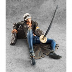 One Piece Estatua 1/8 Excellent Model P.O.P. Trafalgar Law Ver. VS Limited Edition 14 cm