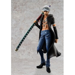 One Piece Estatua PVC 1/8 Excellent Model P.O.P. Sailing Again Trafalgar Law Ver. 2 24 cm
