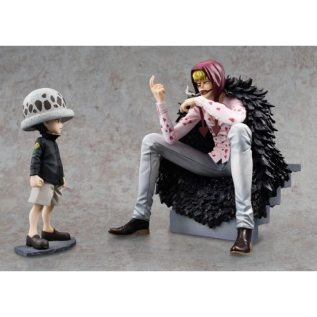 One Piece Estatua 1/8 Excellent Model Limited P.O.P. Corazon & Law Limited Edition 17 cm