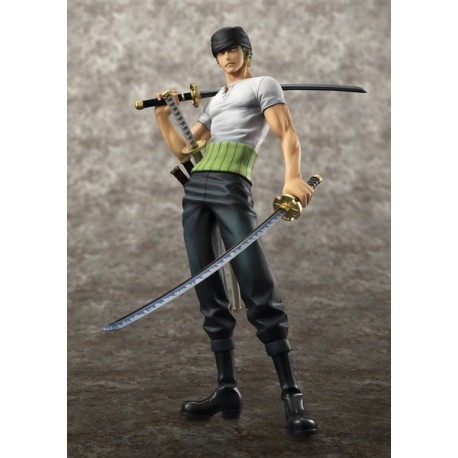 One Piece Estatua PVC Excellent Model NEO-DX Roronoa Zoro 10th Limited Ver. 24 cm