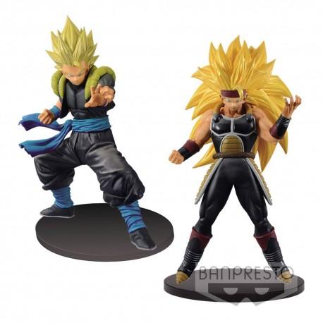 Super Dragon Ball Heroes Figuras DXF Gogeta Xeno & Bardock Xeno 18 cm