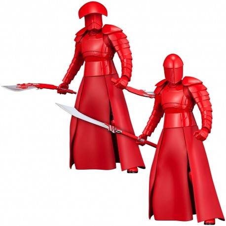 Star Wars Episode VIII Pack de 2 Estatuas ARTFX+ Elite Praetorian Guards 19 cm