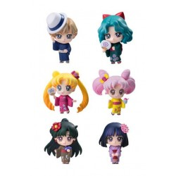 Sailor Moon Petit Chara Pack de 6 Figuras Soldiers of the Outar Solar System 6 cm