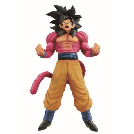 Dragon Ball Super Figura Super Master Stars Piece The Son Goku Super Saiyan IV The Brush 20 cm