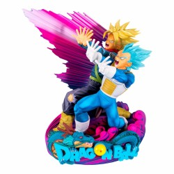 Dragon Ball Super Figura Super Master Stars Piece Vegeta & Trunks Special Color Version 18 cm