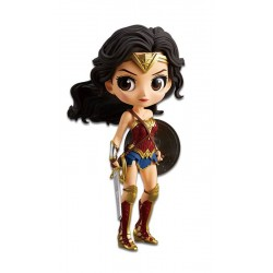 Justice League Minifigura Q Posket Wonder Woman A Normal Color Version 14 cm