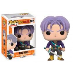 Dragonball Z POP! Animation Vinyl Figura Trunks 9 cm
