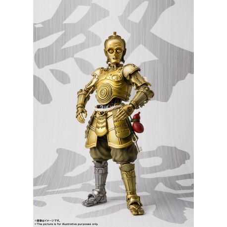 Star Wars Figura Movie Realization Honyaku Karakuri C-3PO 18 cm