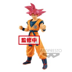 Dragon Ball Super Estatua PVC Cyokuku Buyuden Super Saiyan God Son Goku 22 cm