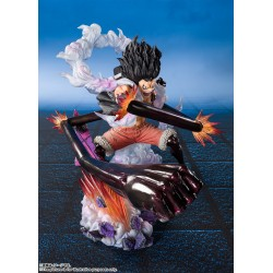 One PieceFiguarts ZERO Monkey D. Luffy Gear 4 Snakeman King Cobra 16 cm