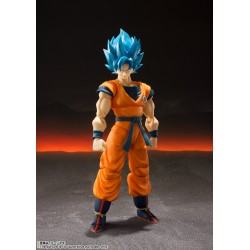 Dragon Ball Super Broly SH Figuarts Super Saiyan God Super Saiyan Goku 14 cm