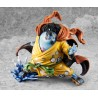 One Piece Estatua PVC 1/ Excellent Model P.O.P. Limited Edition SA-Maximum Jinbe 24 cm