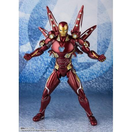 Vengadores: Endgame SH Figuarts Iron Man MK50 Nano Weapon Set 2 16 cm