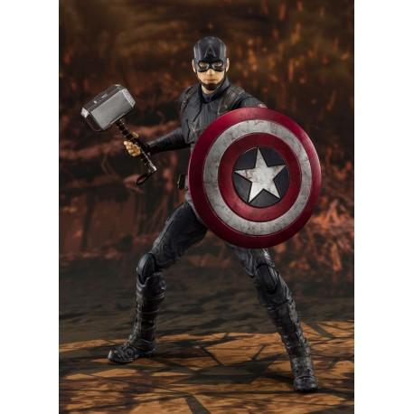 Vengadores: Endgame Figura SH Figuarts Captain America (Final Battle) 15 cm