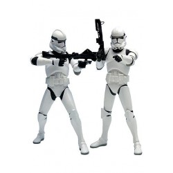 Star Wars Pack de 2 Estatuas ARTFX+ Clonetrooper 18 cm