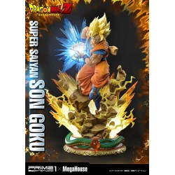 Dragon Ball Z Estatua 1/4 Super Saiyan Son Goku 64 cm
