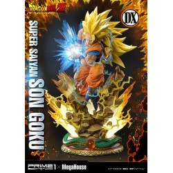 Dragon Ball Z Estatua 1/4 Super Saiyan Son Goku Deluxe Version 64 cm Prime 1 Studio
