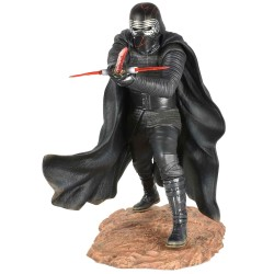 Kylo Ren Estatua Resina 25 cm Star Wars Premier Collection The Rise Of Skywalker Diamond