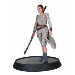 Rey Estatua Resina 28 cm Star Wars The Force Awakens Star Wars Milestones Diamond