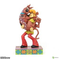 Scooby-Doo Estatua Shaggy Holding Scooby-Doo 23 cm Enesco