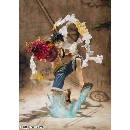 One Piece Figuarts Zero Monkey D. Luffy Battle Version