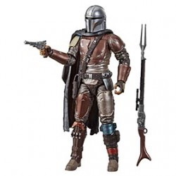 The Mandalorian Figura 19 cm Star Wars Black Series Carbonized Collection Hasbro