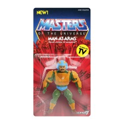 Masters of the Universe Figura Vintage Collection Wave 2 Man-At-Arms 14 cm MOTU Super 7