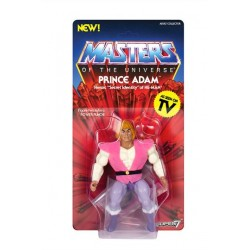 Masters of the Universe Figura Vintage Collection Wave 3 Prince Adam 14 cm MOTU Super 7