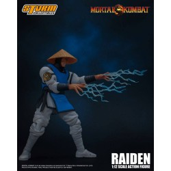 Mortal Kombat Figura 1/12 Raiden 17 cm Storm Collectibles
