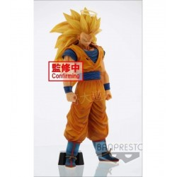Dragon Ball Z Estatua PVC Grandista nero Son Goku SS3 28 cm Banpresto