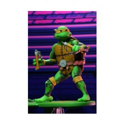 Michelangelo Figura 18 CM Scale Action Figures TMNT TurtlesIn Time Serie 2 Neca