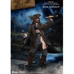 Piratas del Caribe Figura Dynamic 8ction Heroes 1/9 Jack Sparrow 20 cm Beast Kingdom
