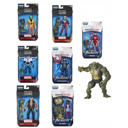 Pack Avengers Abomination 8 Figuras Marvel Legends Hasbro