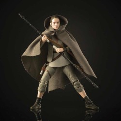 Rey Island Journey Figura 15 cm Star Wars Black Series Hasbro