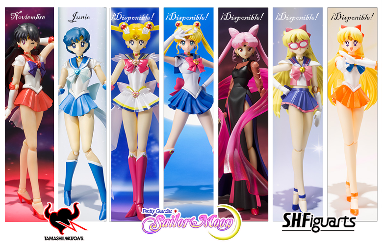 Sailor Moon - Bandai SH Figuarts