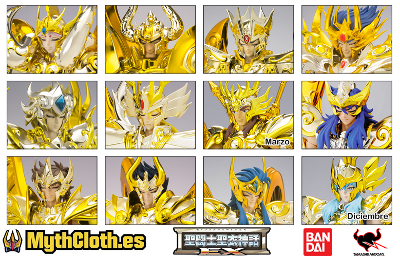 Myth Cloth EX - Soul of Gold