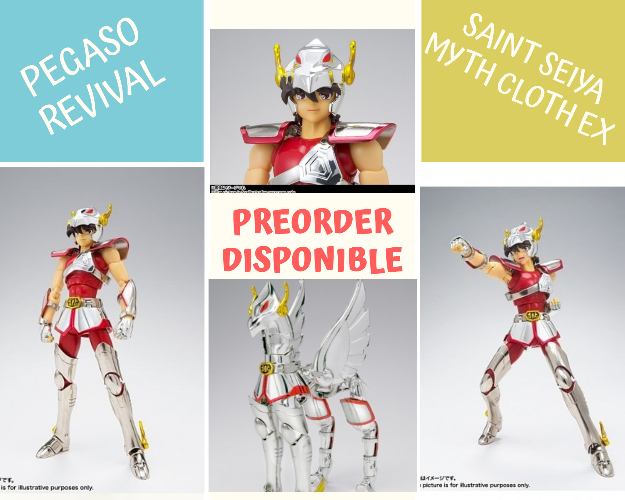 Seiya Pegaso Revival Myth Cloth